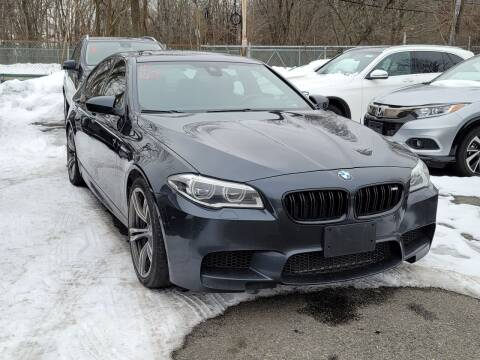2015 BMW M5 for sale at AW Auto & Truck Wholesalers  Inc. in Hasbrouck Heights NJ