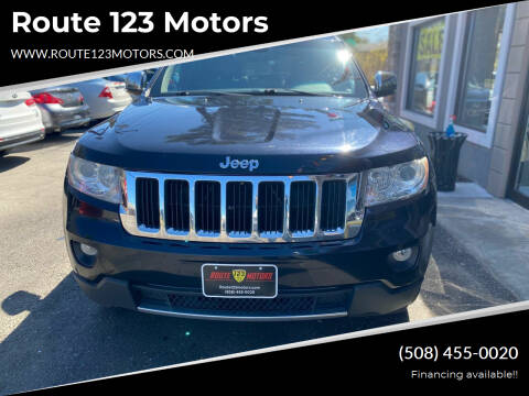 2011 Jeep Grand Cherokee for sale at Route 123 Motors in Norton MA