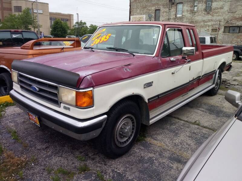 1989 Ford F-250 for sale at RON'S AUTO SALES INC in Cicero IL