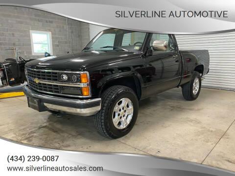 1990 Chevrolet C/K 1500 Series for sale at Silverline Automotive in Lynchburg VA