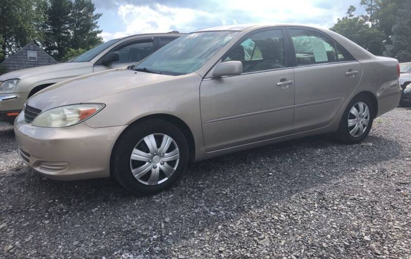 2002 Toyota Camry for sale at Action Automotive Service LLC in Hudson NY
