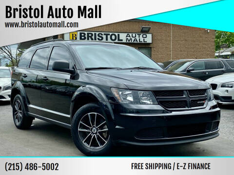 2018 Dodge Journey for sale at Bristol Auto Mall in Levittown PA