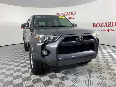 2016 Toyota 4Runner for sale at BOZARD FORD in Saint Augustine FL