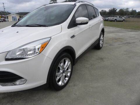 2013 Ford Edge for sale at VANN'S AUTO MART in Jesup GA