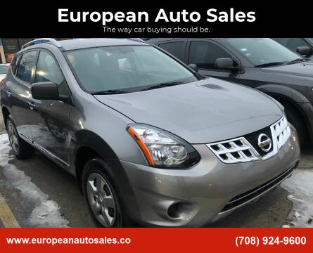 2014 Nissan Rogue Select for sale at European Auto Sales in Bridgeview IL
