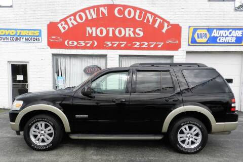 2008 Ford Explorer for sale at Brown County Motors in Russellville OH