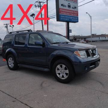 2006 Nissan Pathfinder for sale at Nationwide Auto Group in Melrose Park IL