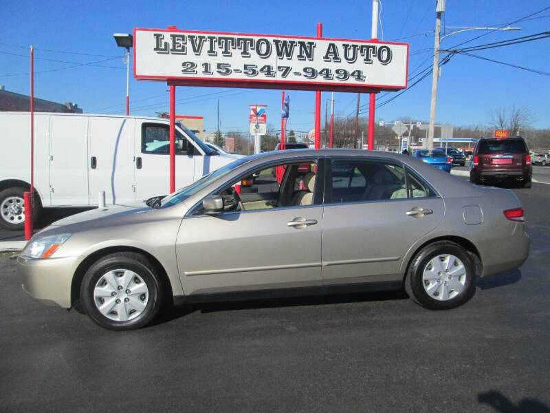 2003 Honda Accord for sale at Levittown Auto in Levittown PA