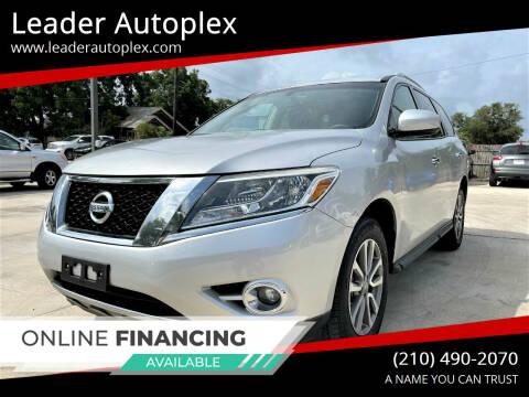 2016 Nissan Pathfinder for sale at Leader Autoplex in San Antonio TX