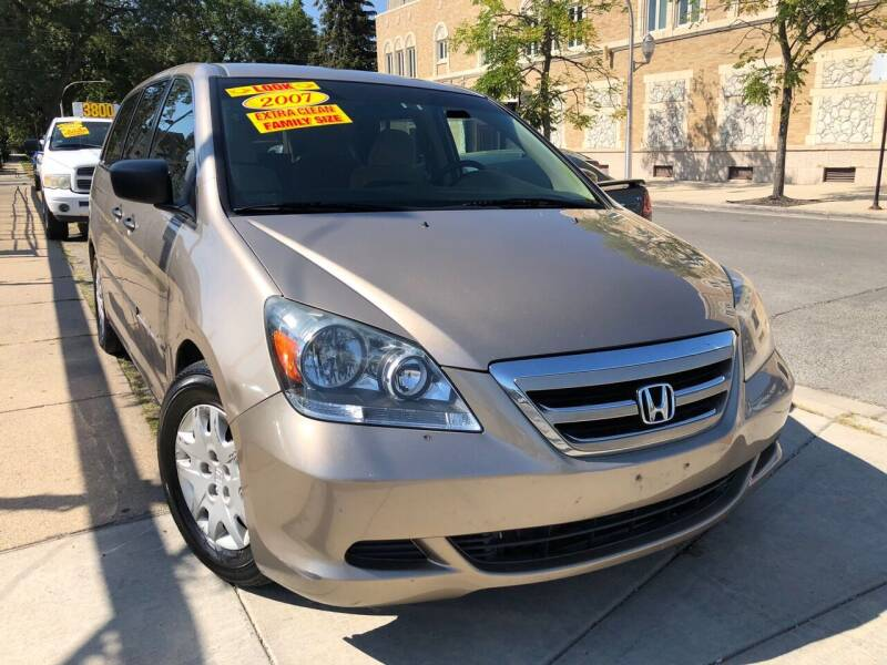 2007 Honda Odyssey for sale at Jeff Auto Sales INC in Chicago IL