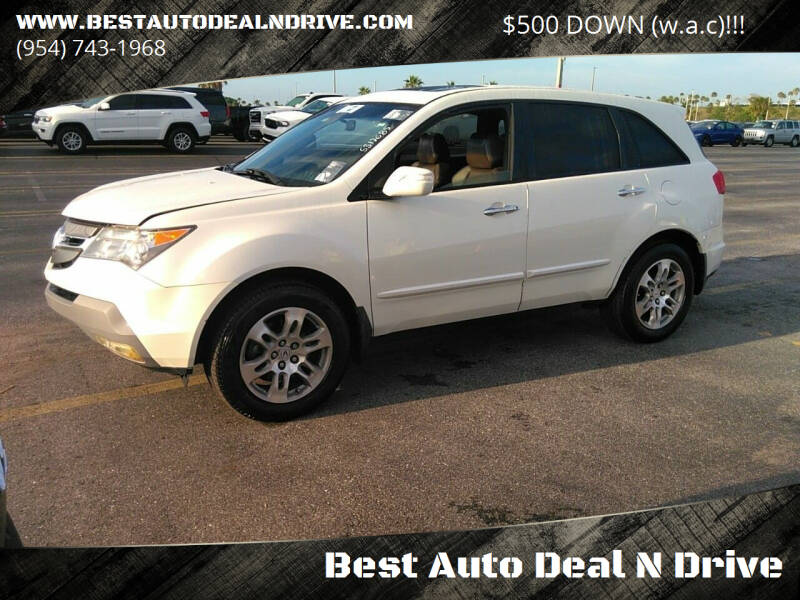 2007 Acura MDX for sale at Best Auto Deal N Drive in Hollywood FL