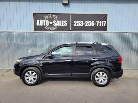 2013 Kia Sorento for sale at Austin's Auto Sales in Edgewood WA