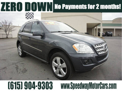 2011 Mercedes-Benz M-Class for sale at Speedway Motors in Murfreesboro TN