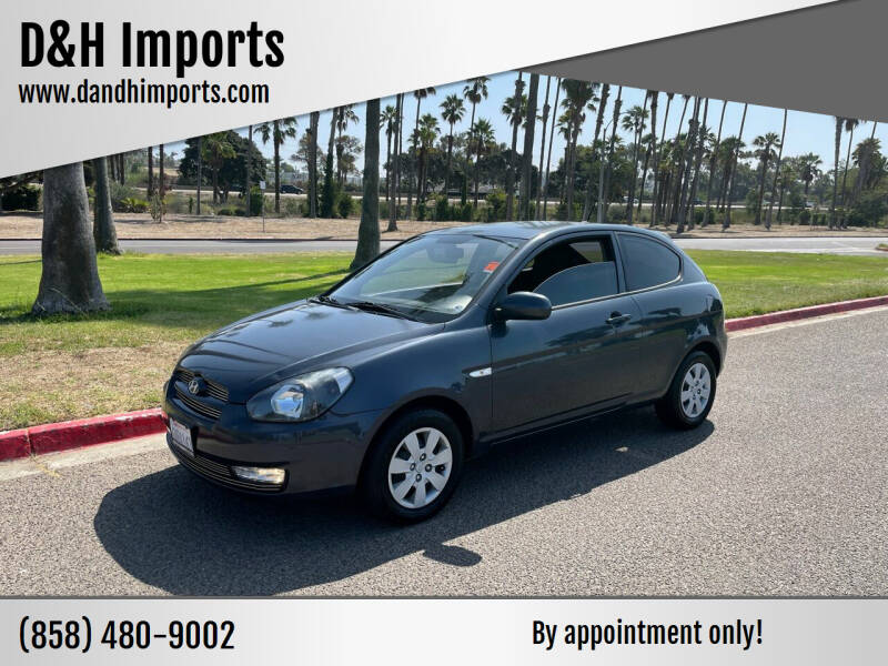 2010 Hyundai Accent for sale at D&H Imports in San Diego CA