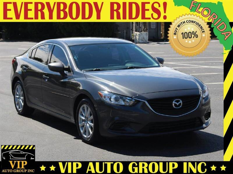 2016 Mazda MAZDA6 for sale at VIP Auto Group in Clearwater FL