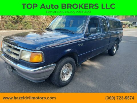 1996 Ford Ranger for sale at TOP Auto BROKERS LLC in Vancouver WA