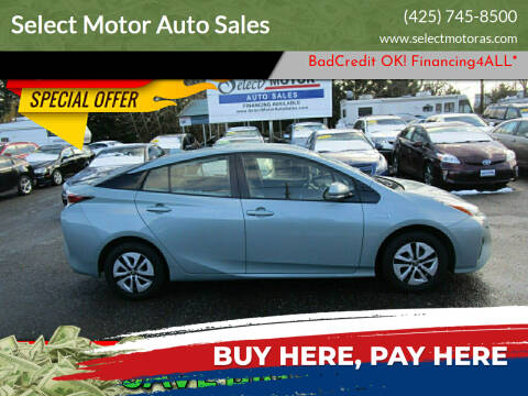 2017 Toyota Prius for sale at Select Motor Auto Sales in Lynnwood WA