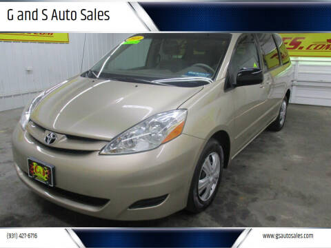 2009 Toyota Sienna for sale at G and S Auto Sales in Ardmore TN