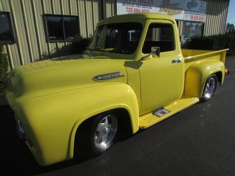 1954 Ford F-100 for sale at Toybox Rides in Black River Falls WI