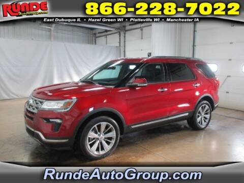 2019 Ford Explorer for sale at Runde Chevrolet in East Dubuque IL