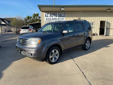 2014 Honda Pilot for sale at AZ Auto Sale in Houston TX