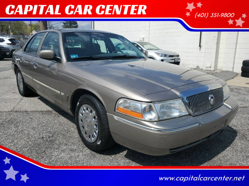 2004 Mercury Grand Marquis for sale at CAPITAL CAR CENTER in Providence RI