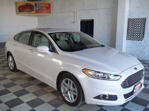 2014 Ford Fusion for sale at Schalk Auto Inc in Albion NE