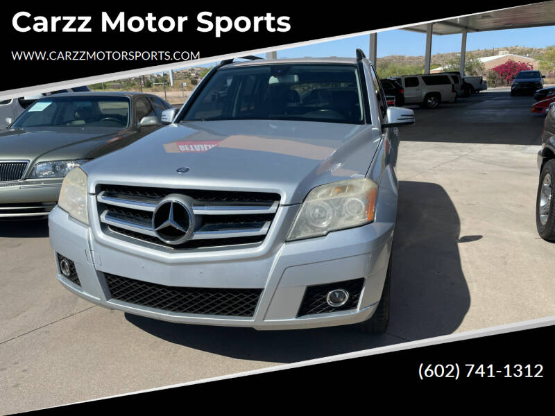 2012 Mercedes-Benz GLK for sale at Carzz Motor Sports in Fountain Hills AZ