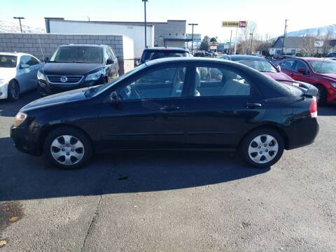 2008 Kia Spectra for sale at Creekside Auto Sales in Pocatello ID