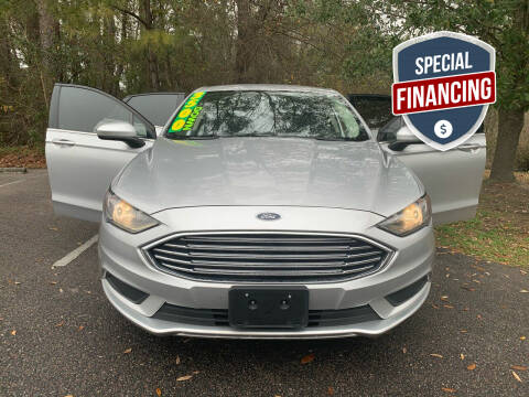 2017 Ford Fusion Hybrid for sale at Auto Mart in North Charleston SC