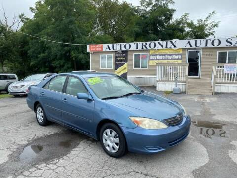 2004 Toyota Camry for sale at Auto Tronix in Lexington KY