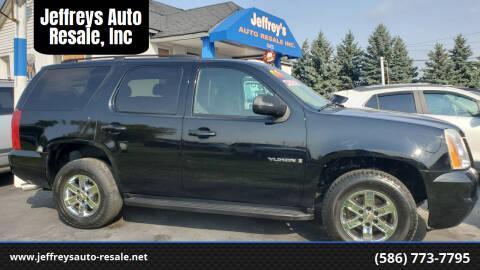 2008 GMC Yukon for sale at Jeffreys Auto Resale, Inc in Clinton Township MI