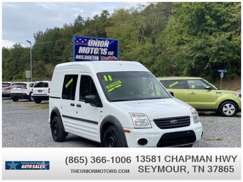 2011 Ford Transit Connect for sale at Union Motors in Seymour TN