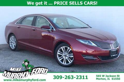 2015 Lincoln MKZ for sale at Mike Murphy Ford in Morton IL
