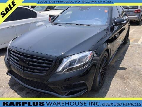 2014 Mercedes-Benz S-Class for sale at Karplus Warehouse in Pacoima CA