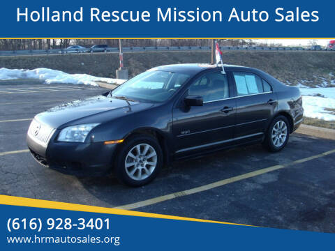 2007 Mercury Milan for sale at Holland Rescue Mission Auto Sales in Holland MI