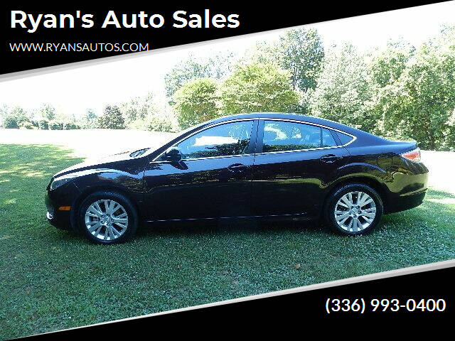 2010 Mazda MAZDA6 for sale at Ryan's Auto Sales in Kernersville NC
