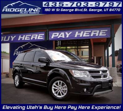 2013 Dodge Journey for sale at Ridgeline Auto Sales in Saint George UT