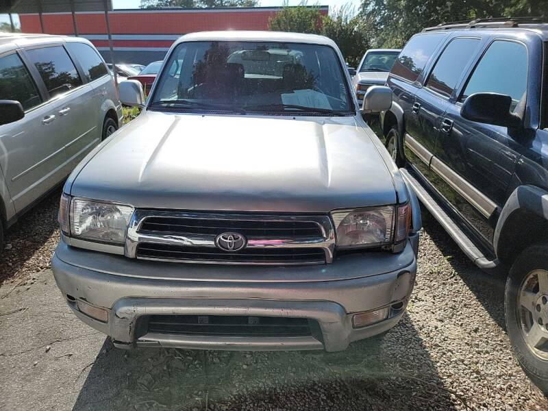 2000 Toyota 4Runner for sale at Wally's Cars ,LLC. in Morehead City NC