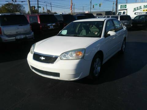 2006 Chevrolet Malibu for sale at Rucker's Auto Sales Inc. in Nashville TN