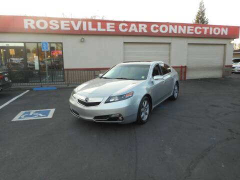 2013 Acura TL for sale at ROSEVILLE CAR CONNECTION in Roseville CA