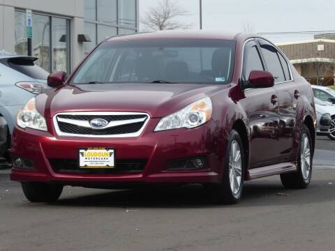 2012 Subaru Legacy for sale at Loudoun Motor Cars in Chantilly VA