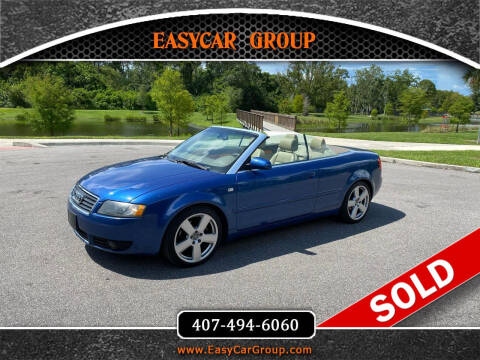 2006 Audi A4 for sale at EASYCAR GROUP in Orlando FL