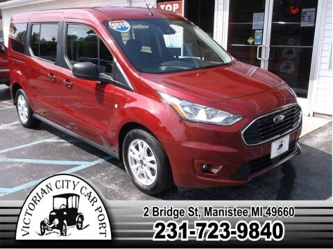 2019 Ford Transit Connect Wagon for sale at Victorian City Car Port INC in Manistee MI