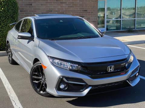2020 Honda Civic for sale at AKOI Motors in Tempe AZ