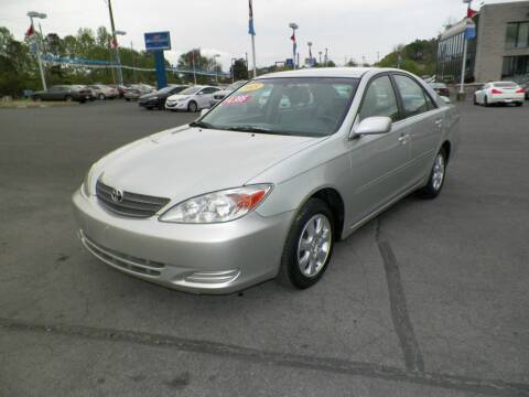 2002 Toyota Camry for sale at Paniagua Auto Mall in Dalton GA