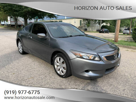 2008 Honda Accord for sale at Horizon Auto Sales in Raleigh NC