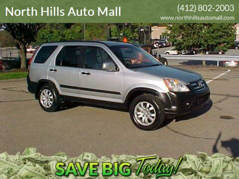 2006 Honda CR-V for sale at North Hills Auto Mall in Pittsburgh PA
