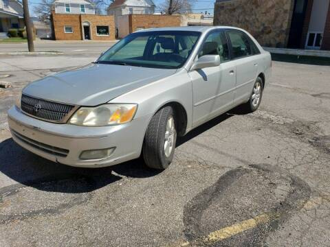 2002 Toyota Avalon for sale at USA AUTO WHOLESALE LLC in Cleveland OH