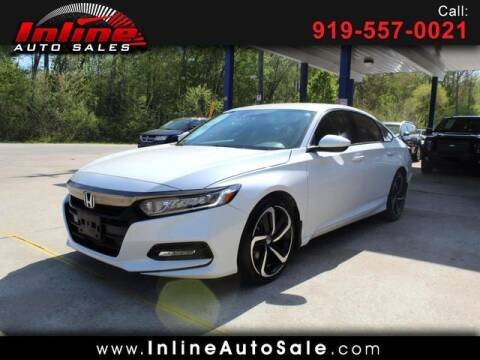 2020 Honda Accord for sale at Inline Auto Sales in Fuquay Varina NC